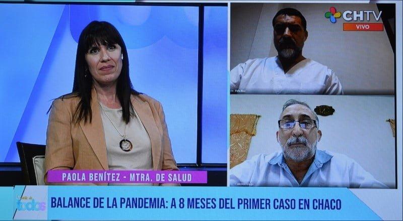 La Ministra de Salud Paola Benítez destacó los resultados del control de la pandemia