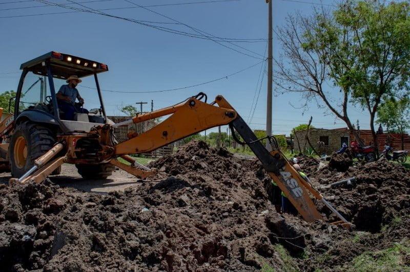SAMEEP amplía el servicio en el barrio Los Aromitos