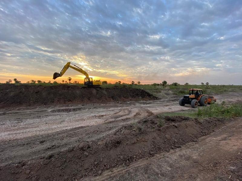 La Provincia completó trabajos de mantenimiento en el canal Río Muerto-Las Colonias