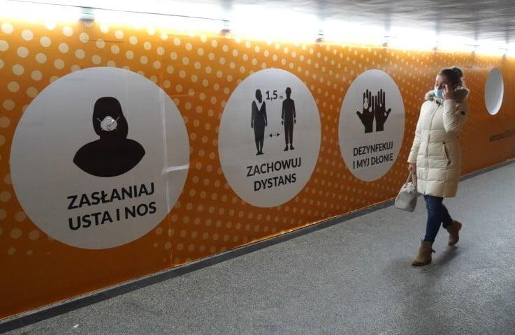 Polonia registra el máximo de muertos por coronavirus en un día desde el inicio de la pandemia