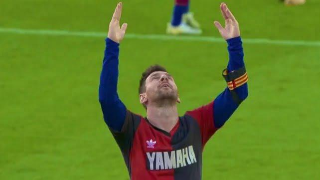 La amonestación a Messi por el homenaje a Maradona puede quedar sin efecto