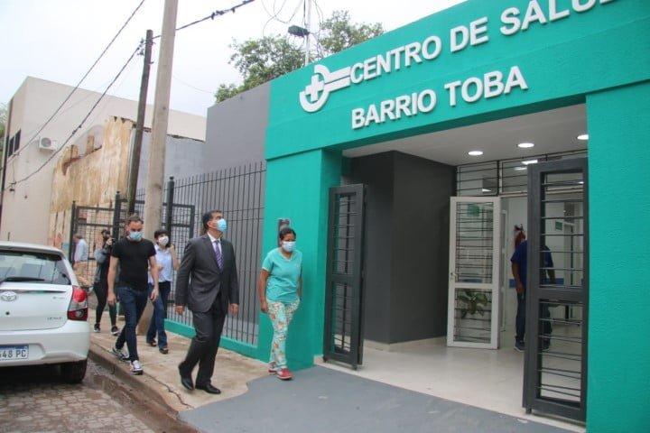 El gobierno inauguró las refacciones del centro de salud del Complejo Gran Toba