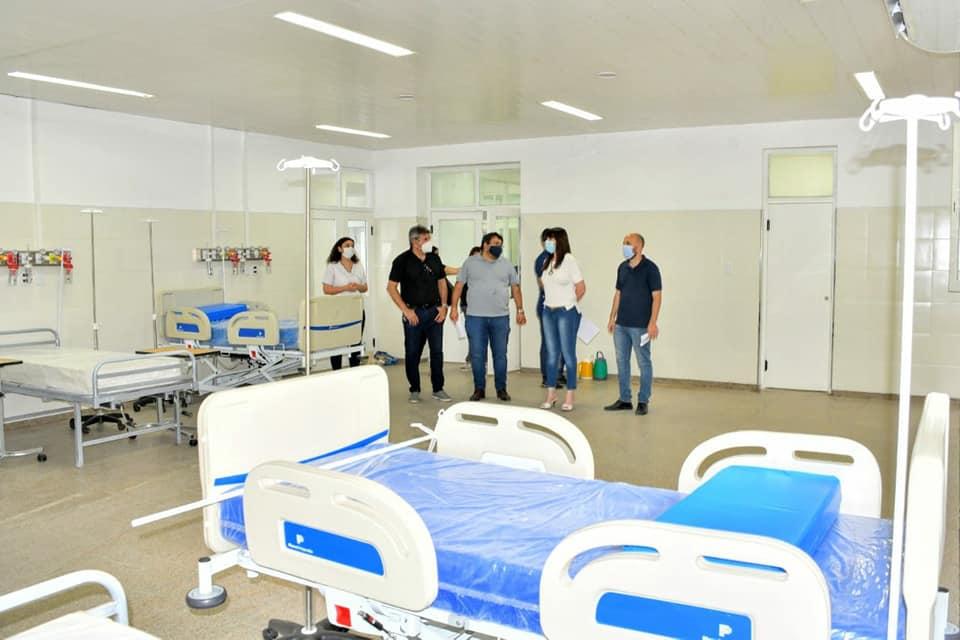 Salud suma más camas para pacientes con covid-19 en el hospital de Sáenz Peña