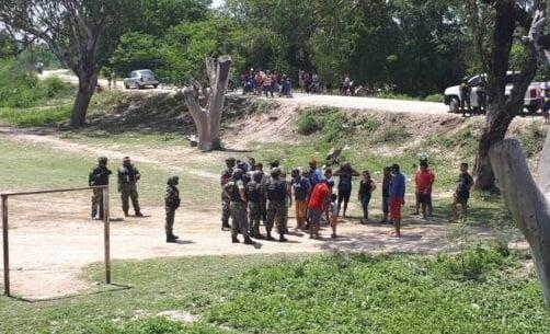 En un intento de contrabando más de 100 personas agreden a policías en la frontera de Clorinda