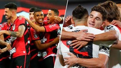 River inicia la serie de octavos de la final de la Libertadores como visitante de Paranaense