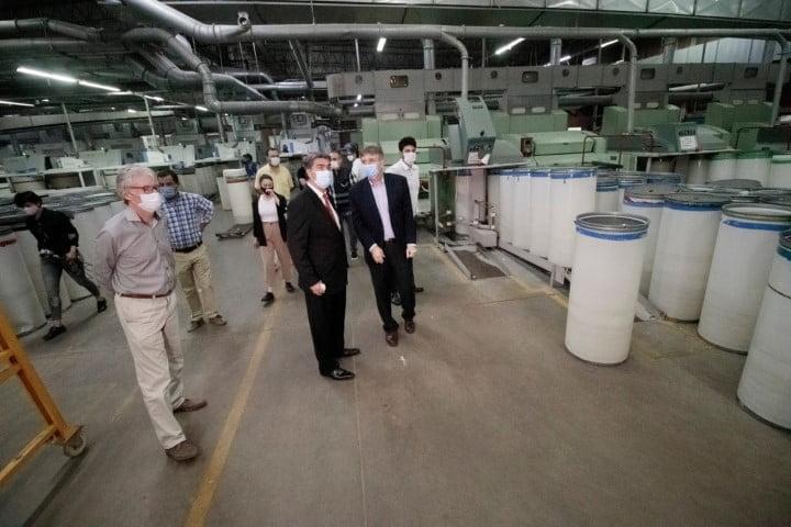 Capitanich anunció inicio de obras en la Textil Santana de Puerto Tirol