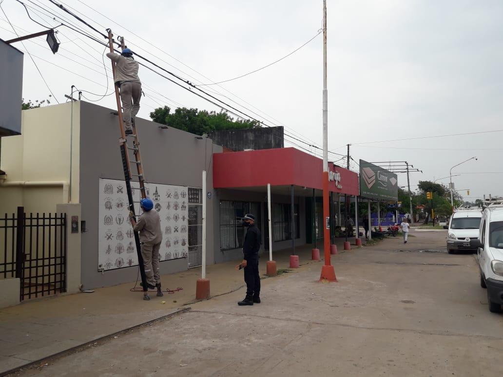 Operativos de Secheep por conexiones irregulares en Barranqueras, Fontana y Puerto Vilelas