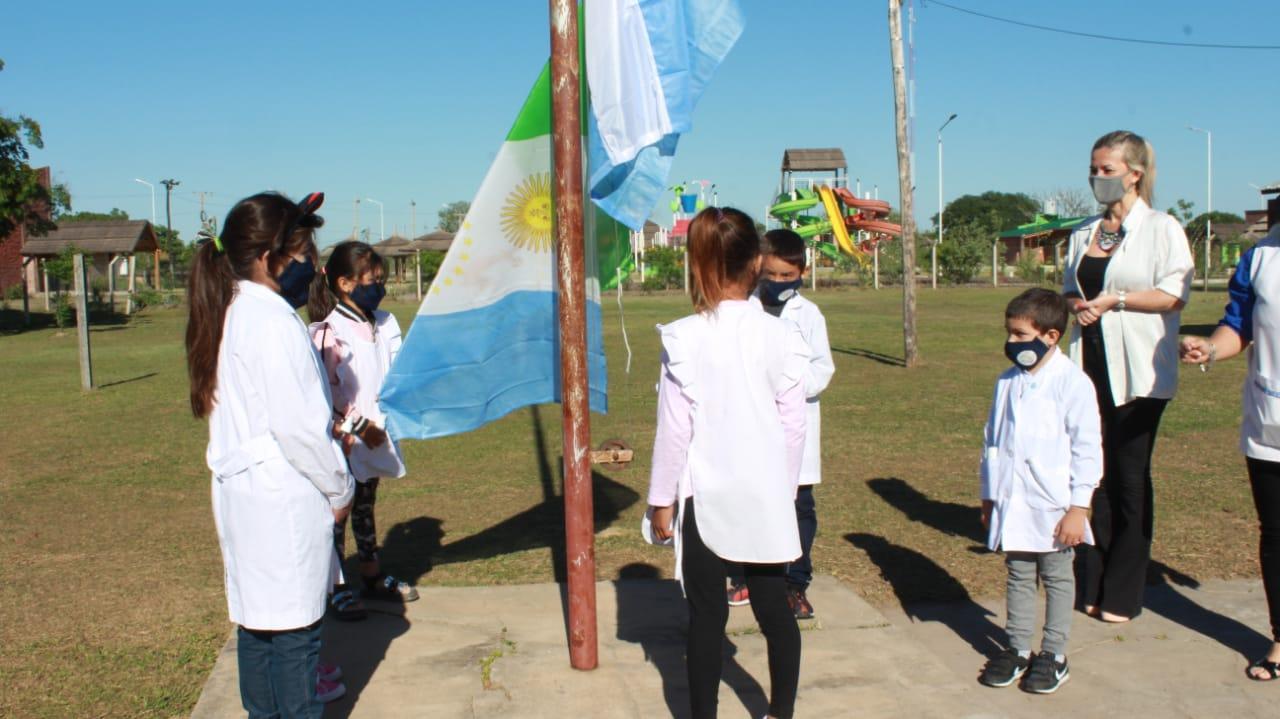 Laguna Blanca, Laguna Limpia y Salvas del Río de Oro se sumaron al regreso presencial a clase