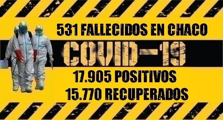 Coronavirus: falleció una mujer en Villa Ángela
