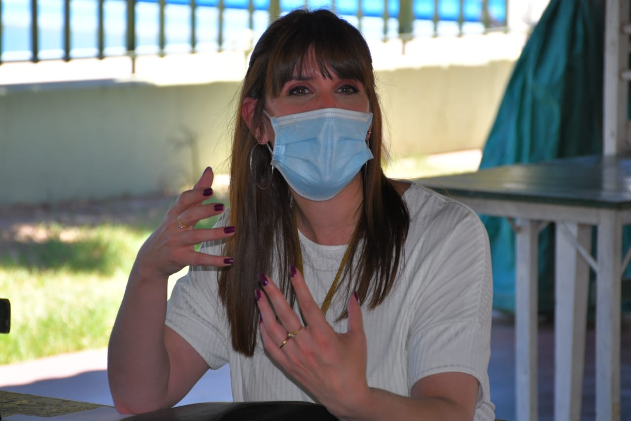 Mejora en los índices de la pandemia: la ministra Benítez destacó el cumplimiento de las medidas sanitarias