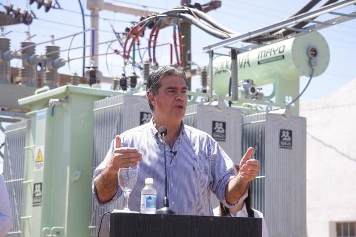 Avanza la estación transformadora de Pampa Almirón y ya está operativo el nuevo centro de distribución de energía de San Martín