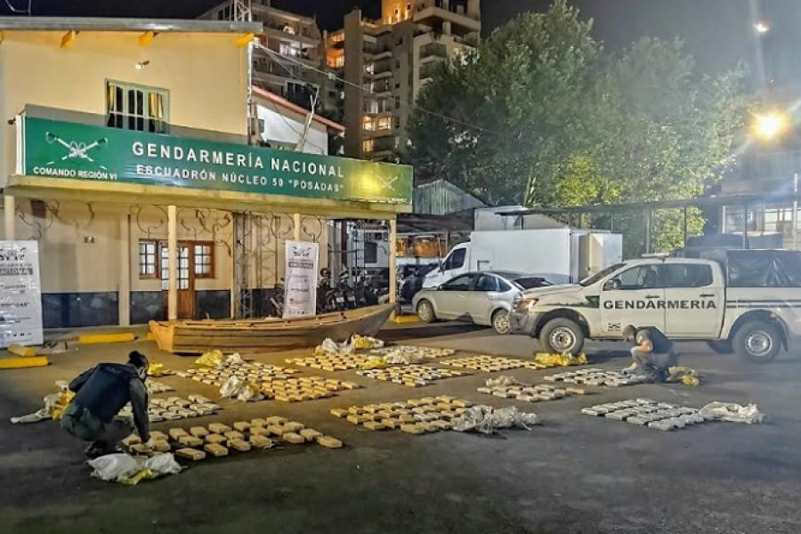 Secuestran más de 324 kilos de marihuana en dos operativos en Misiones