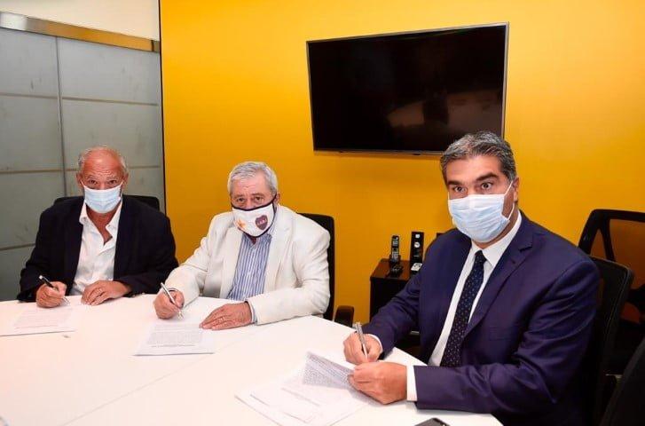 Capitanich, Scholas Ocurrentes y Boca Juniors firmaron convenio para la creación de un centro de recuperación de adicciones en El Impenetrable
