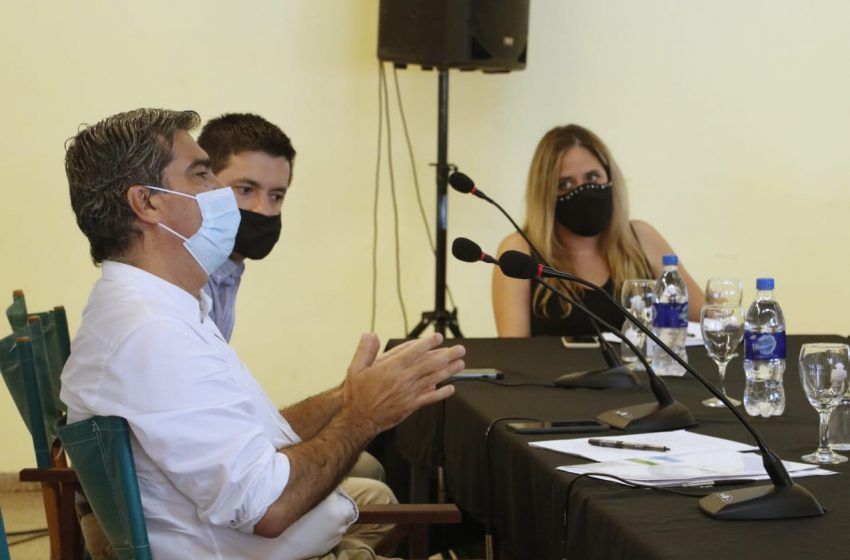Encabezado por Capitanich, el Comité Sanitario de Emergencia se reunió en Sáenz Peña