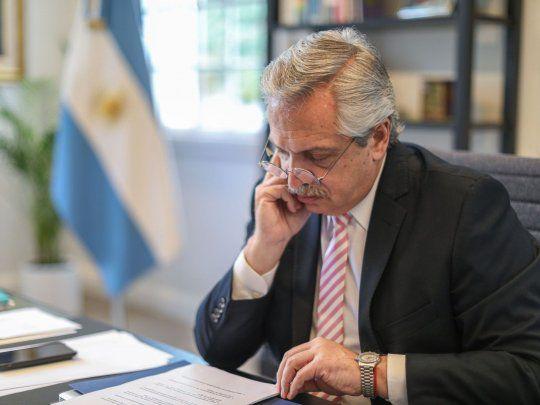 Alberto Fernández felicitó a Biden por su llegada a la Casa Blanca