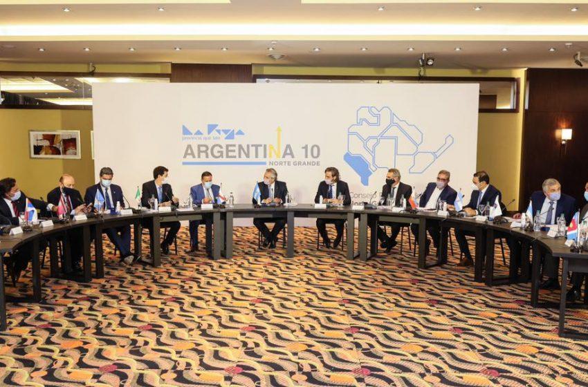 Alberto se reúne con los gobernadores del Norte Grande en La Rioja