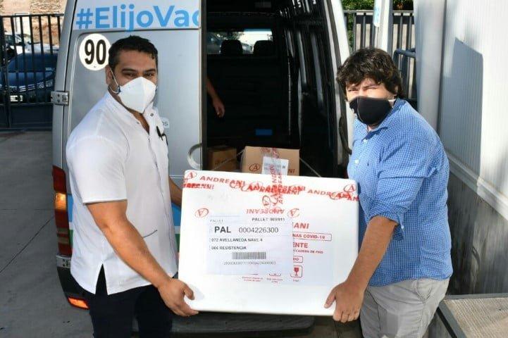 Salud distribuirá vacunas este fin de semana en Las Breñas, General Pinedo, Machagai y Quitilipi