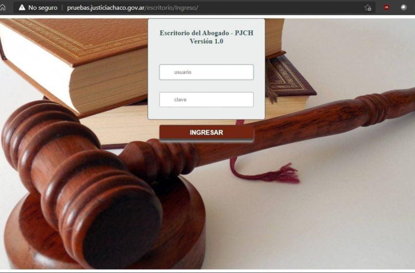 Expediente digital: habilitan sitio para practicar ingreso de demandas