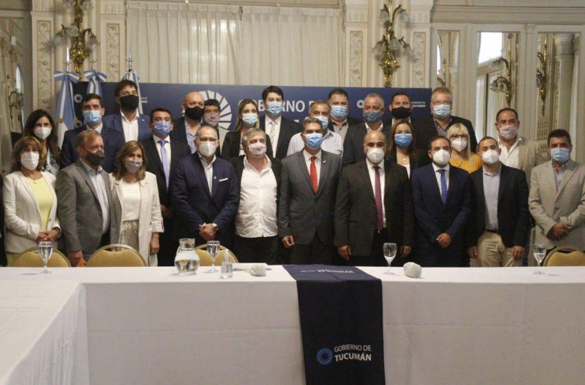 """Norte Grande: en Tucumán, Panzardi celebró """"la unión de voluntades en favor de mayor desarrollo"""""""