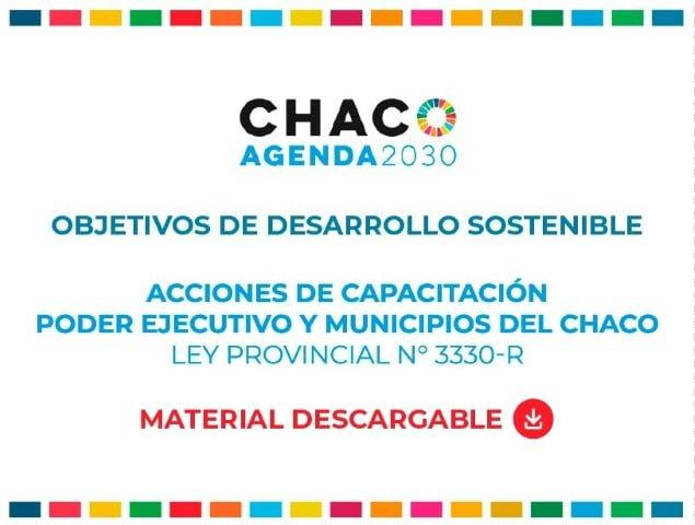 IPAP: ya se puede descargar desde la web el material de la capacitación en los Objetivos de Desarrollo Sostenible de la ONU