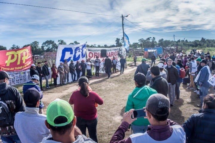 Organizaciones sociales, campesinas e indígenas se movilizan este miércoles en distintos puntos del Chaco