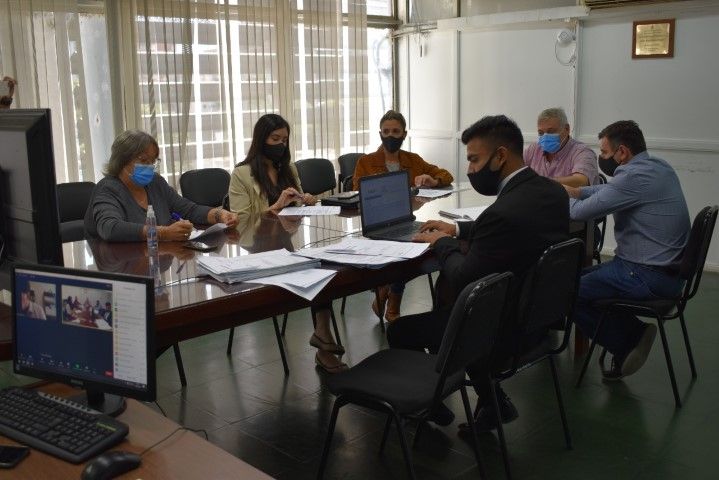 Sesionó la comisión de Asuntos Constitucionales