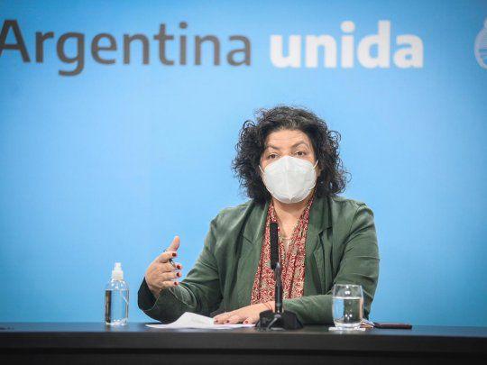 Vizzotti lanza desde La Pampa la vacunación contra el coronavirus para niños y niñas de todo el país