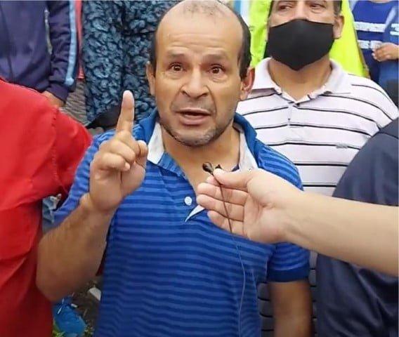 """Confuso episodio en Casa de Gobierno entre Chapo y el piquetero Monzón, que """"amenazó con matarlo"""" al ministro"""