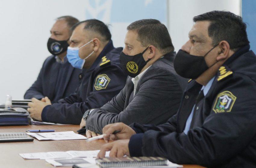 El gobierno se reunió con la policía del Chaco para monitorear avances en políticas de seguridad