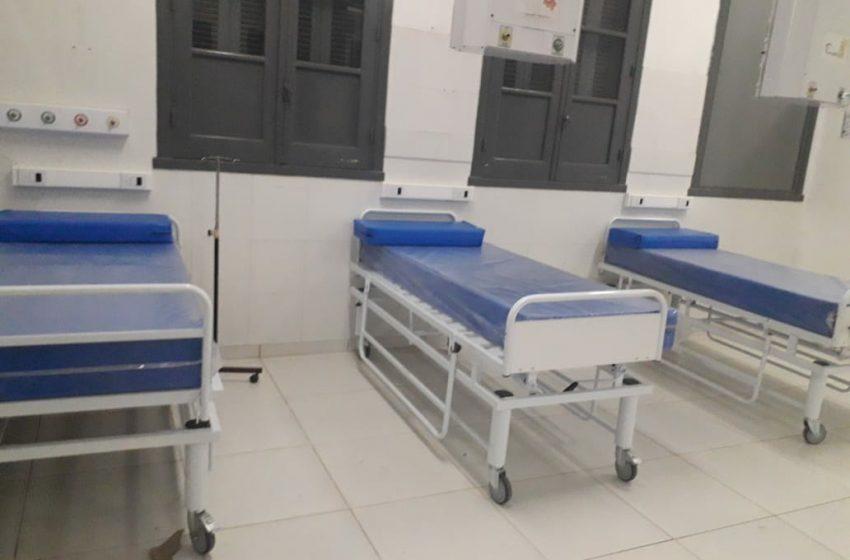 El Hospital 4 de Junio de Sáenz Peña recibió 10 camas y 10 respiradores y duplicó la capacidad de terapia intensiva Covid