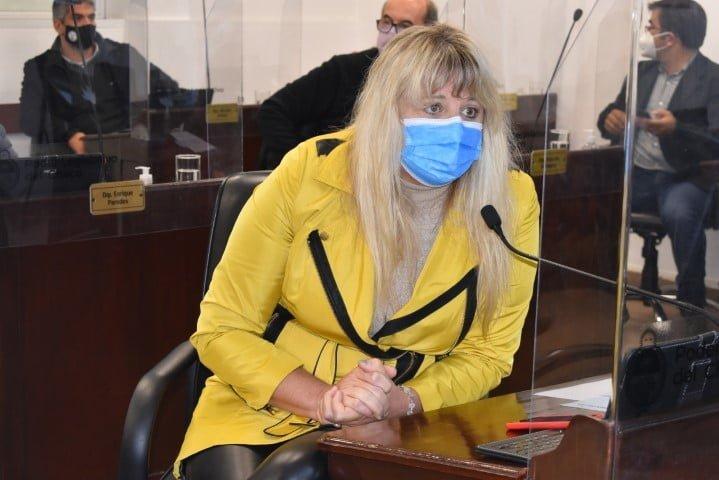 """Spoljaric sobre la visita de Torrente a la Legislatura: """"Escuchamos a una ministra que se puso al hombro la educación en tiempos de pandemia"""""""