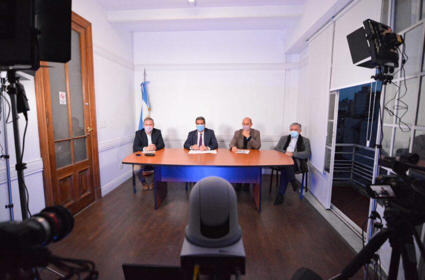 Capitanich y Trotta acordaron más inversiones en infraestructura educativa y conectividad para Chaco