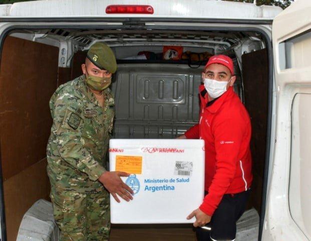 Chaco recibió 21.600 dosis de AstraZeneca para completar esquemas de inmunización
