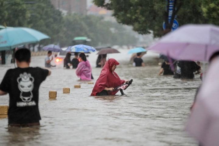Asciende a 25 el número de fallecidos y a 200.000 evacuados por inundaciones y lluvias torrenciales en China